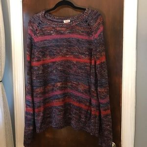 Multicolor sweater with a little shimmer